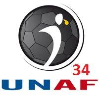 Logo unaf34 arbitre football